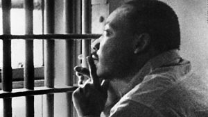 Civil Rights Movement Martin Luther KIng in Jail Cell http://teachpeacenow.com
