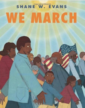 We March children's book recommended by Teach Peace Now