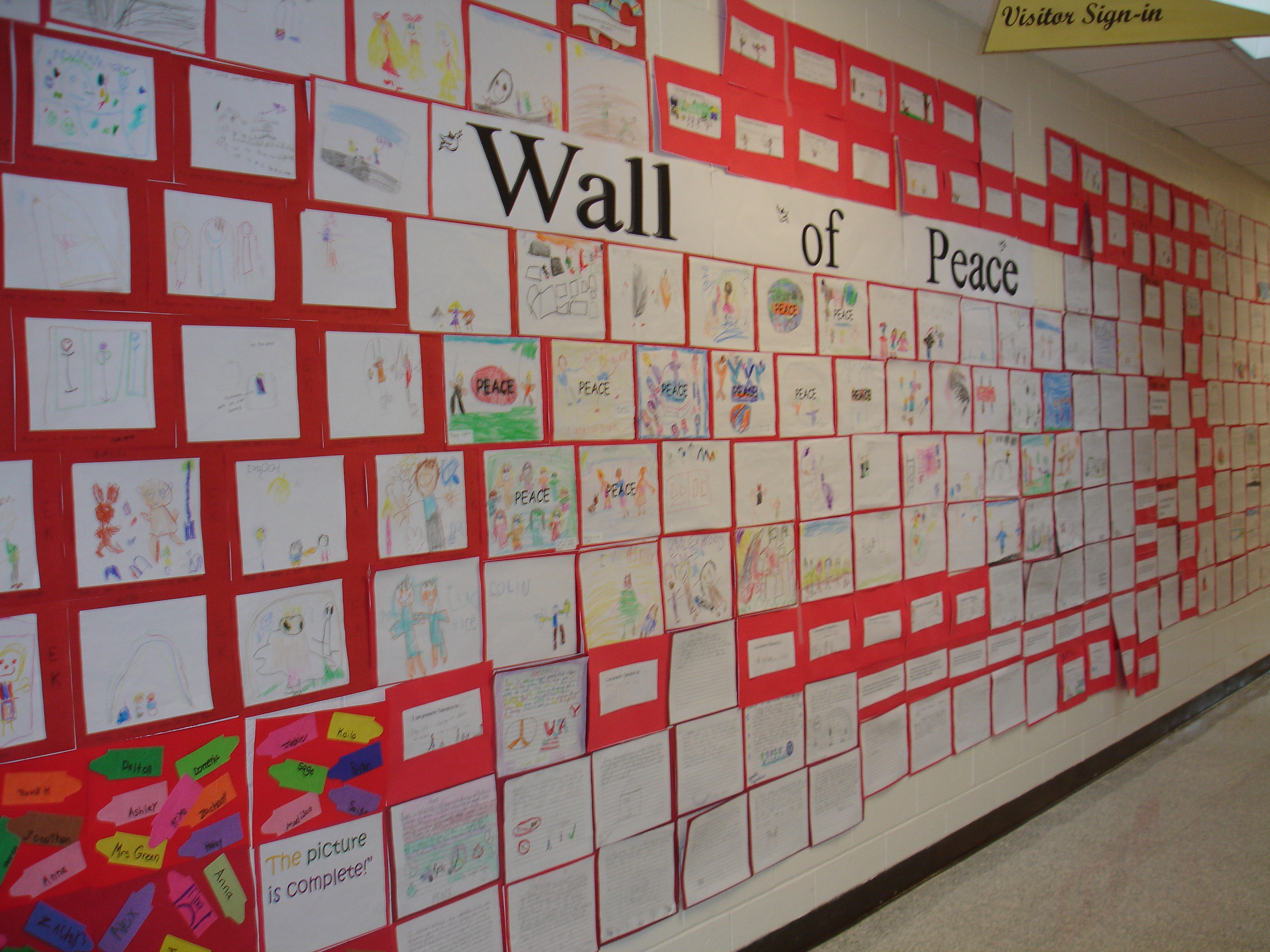 Peace Wall Lesson