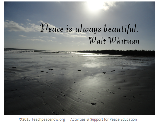 Quotes On Peace | Poems Quotes For Peace Lesson Plan Let S Talk Peace Teach
